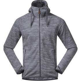 Bergans Hareid Fleece Jacket Herren aluminium melange